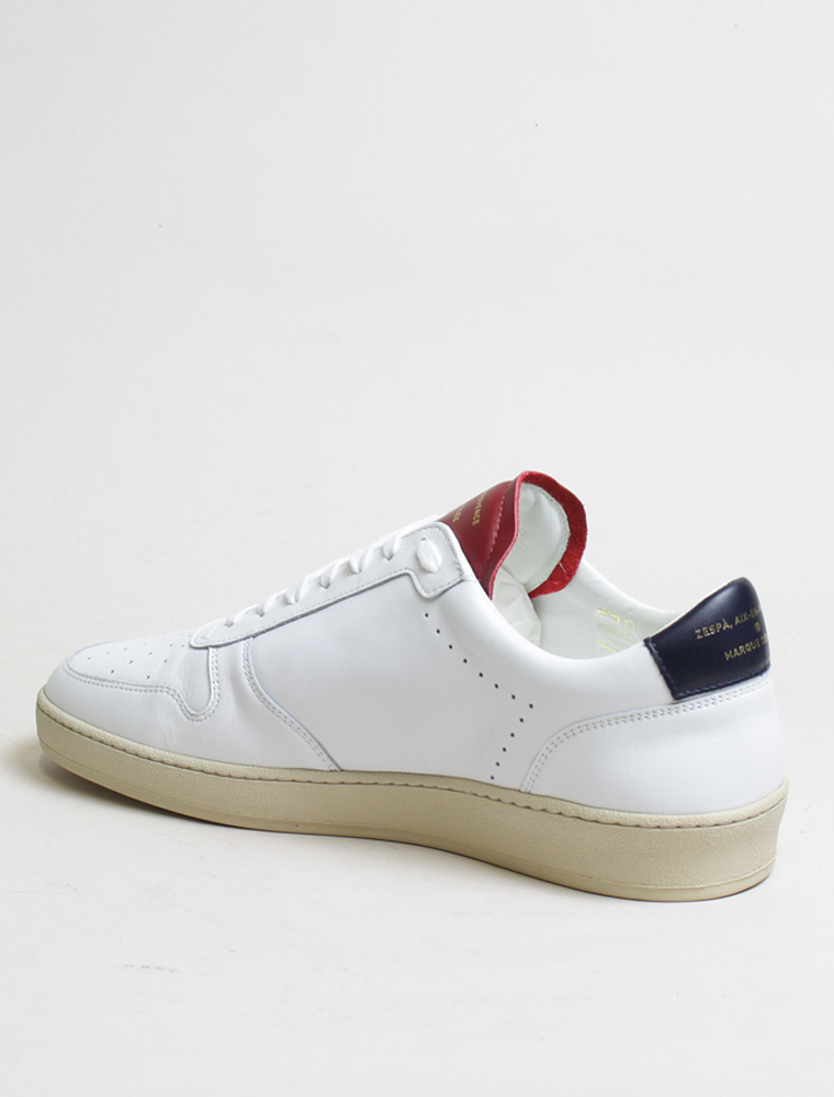Zespa Zsp23 apla sneakers nappa bianca France lato
