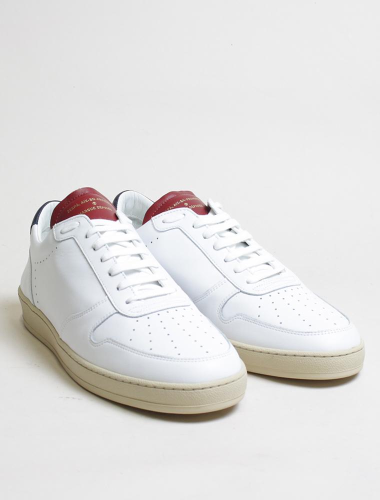 Zespa Zsp23 apla sneakers nappa bianca France paio