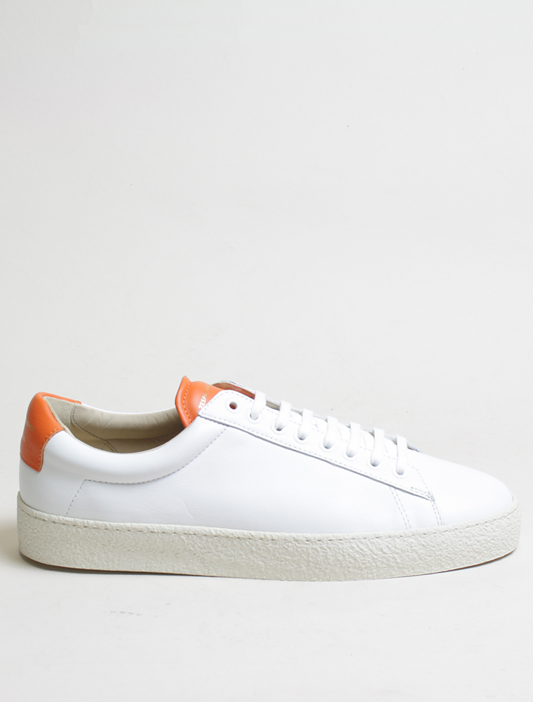 Zespa Zsp4 SPTR apla sneakers nappa white Orange