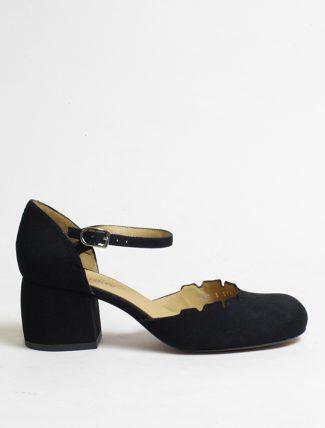 Audley 20519 sandalo camoscio nero