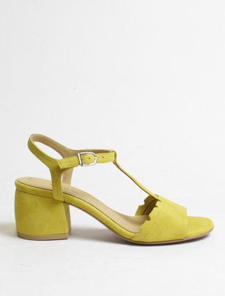 Audley 20455 sandalo camoscio mustard