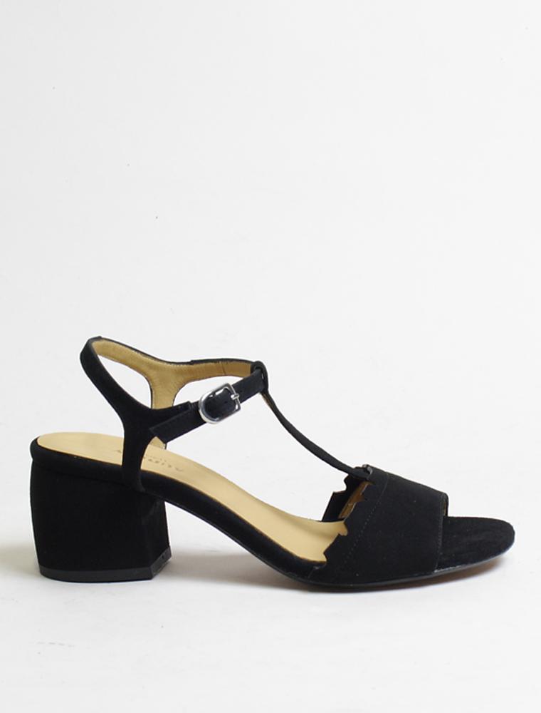 Audley 20455 sandalo camoscio nero