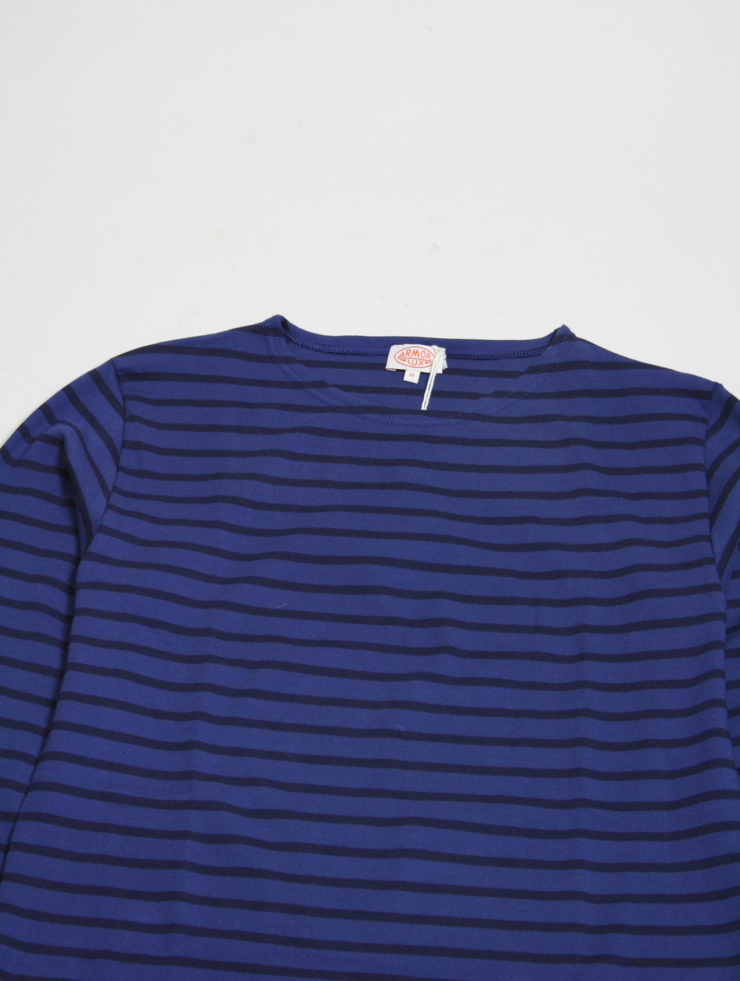 Armor Lux T-Shirt 2297 Polo Iroise dettaglio collo