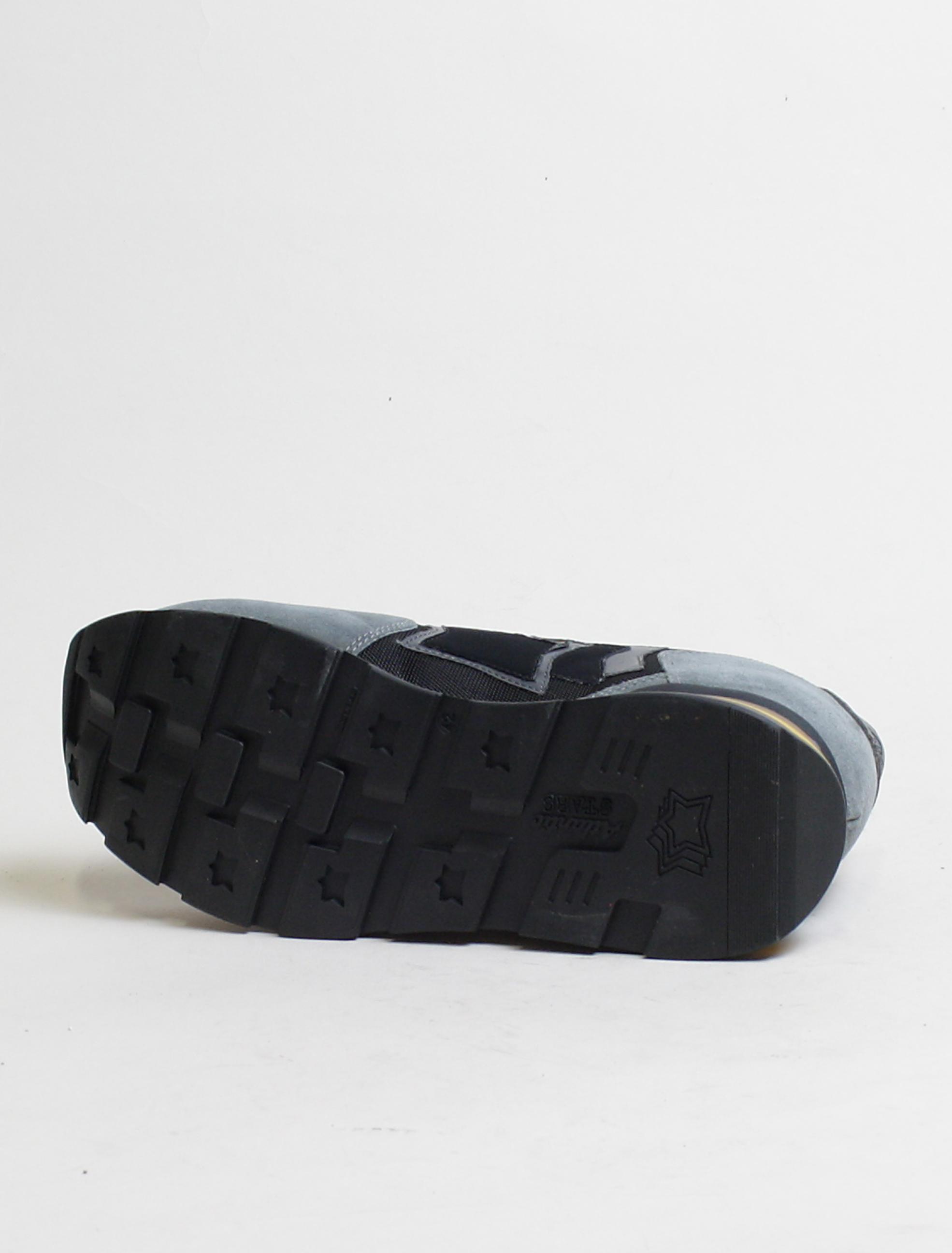 Atlantic Stars sneakers Antares NPN 03N Nero dettaglio suola