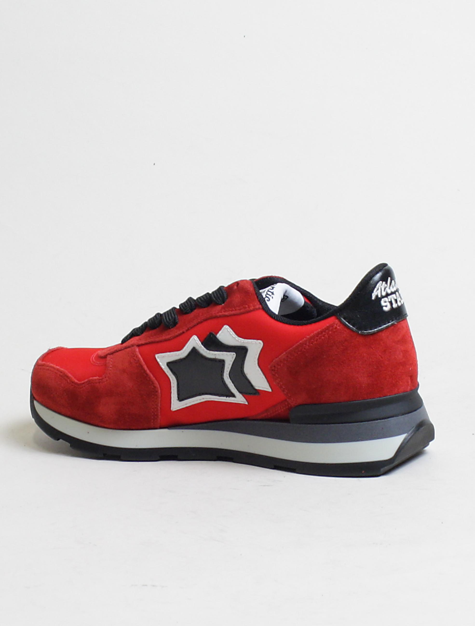 Atlantic Stars sneakers Vega RFN-81N rosso dettaglio interno