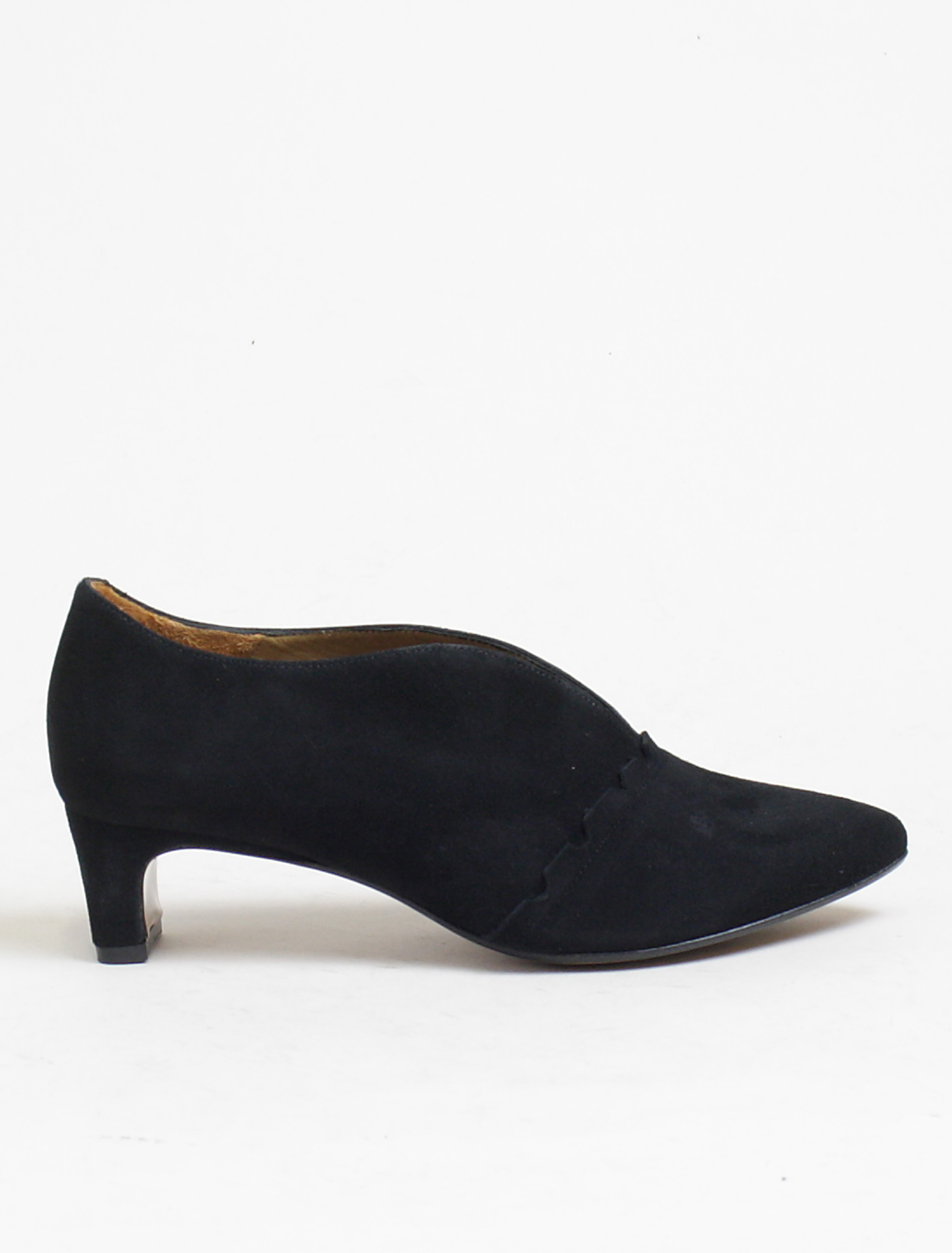 Audley 20742 decolletè suede black