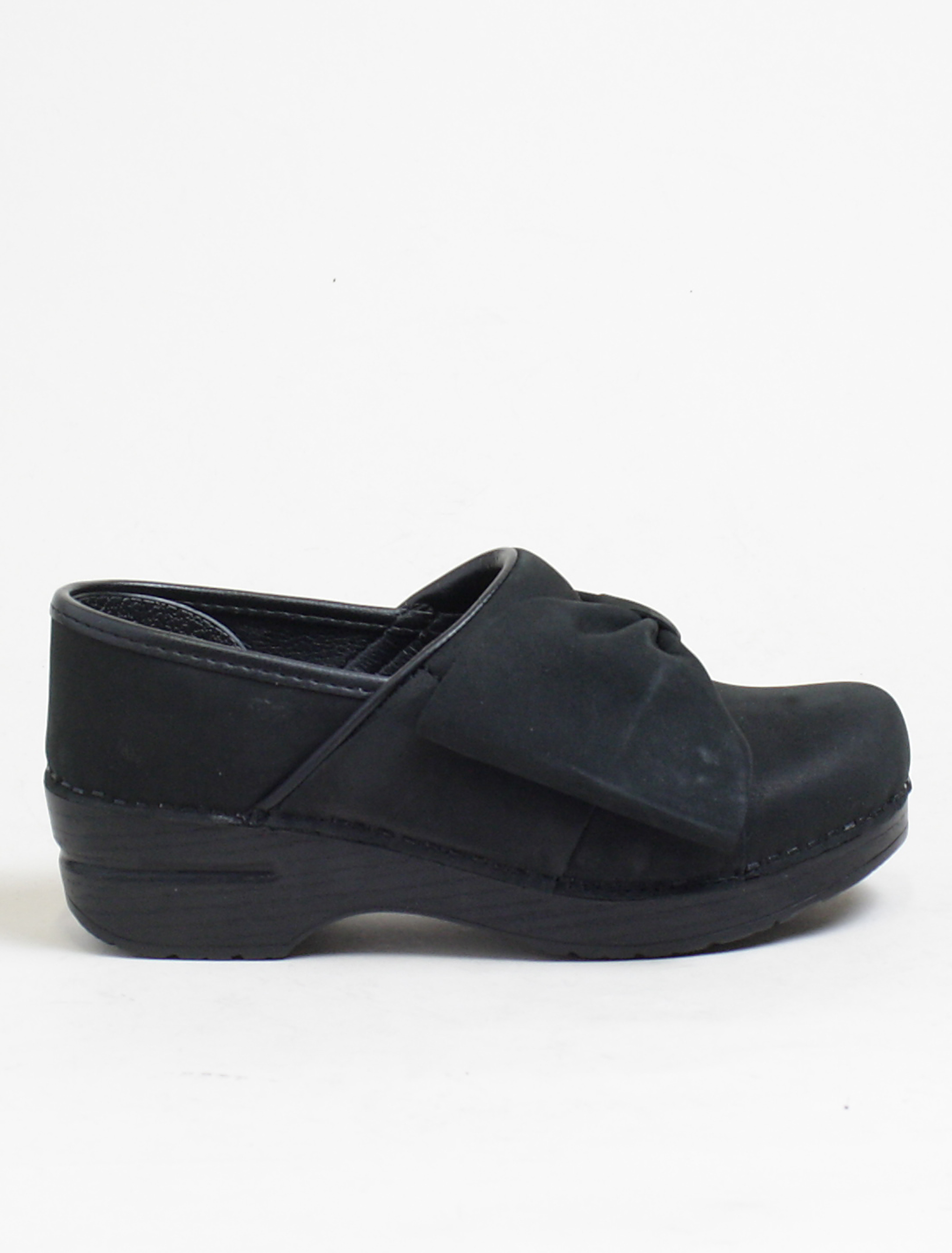 Dansko Pro Bow Black Nubuk