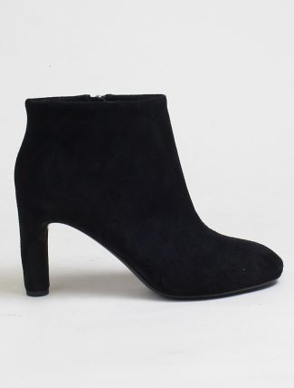 Roberto Del Carlo black fox ankle boot