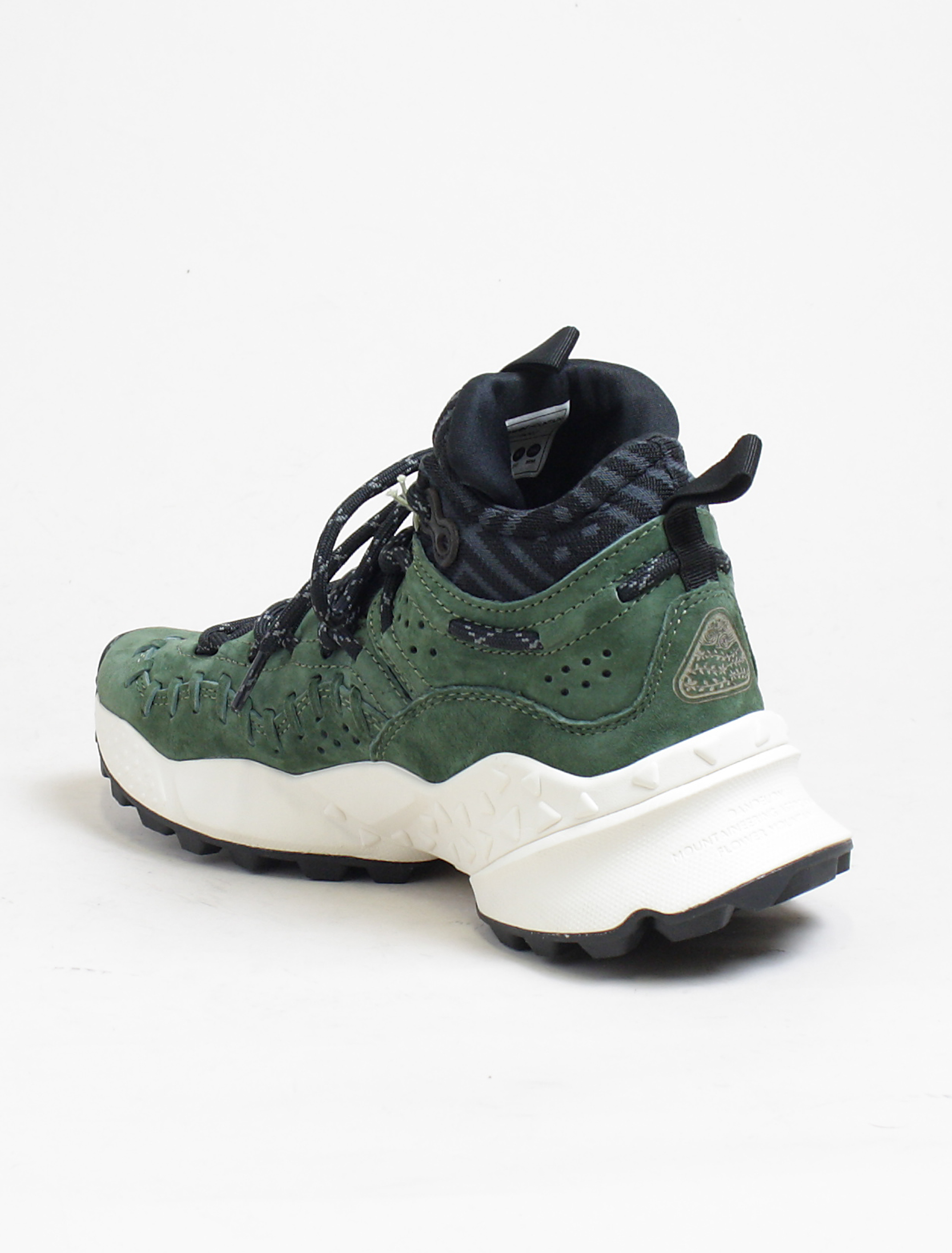sneakers pigskin Mohican Mountain Flower green back detail 58w6q