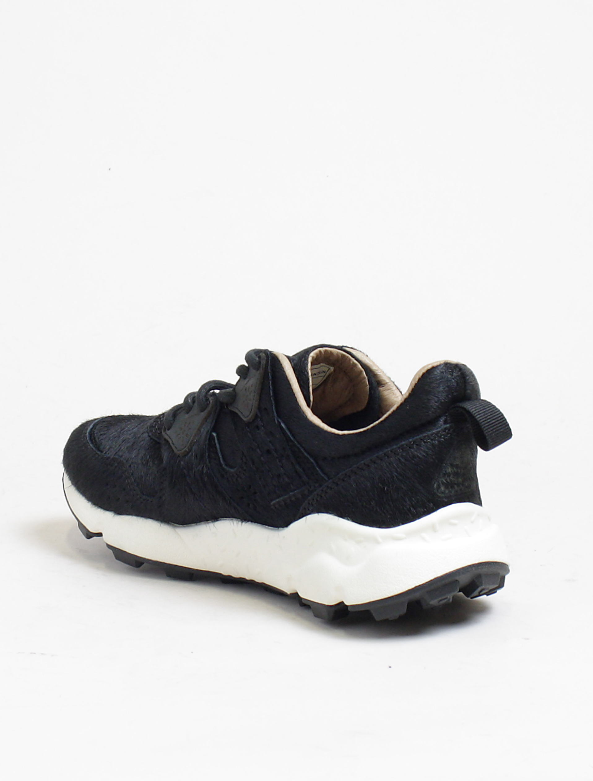 Flower Mountain sneakers Corax 2 horse hair black dettaglio interno