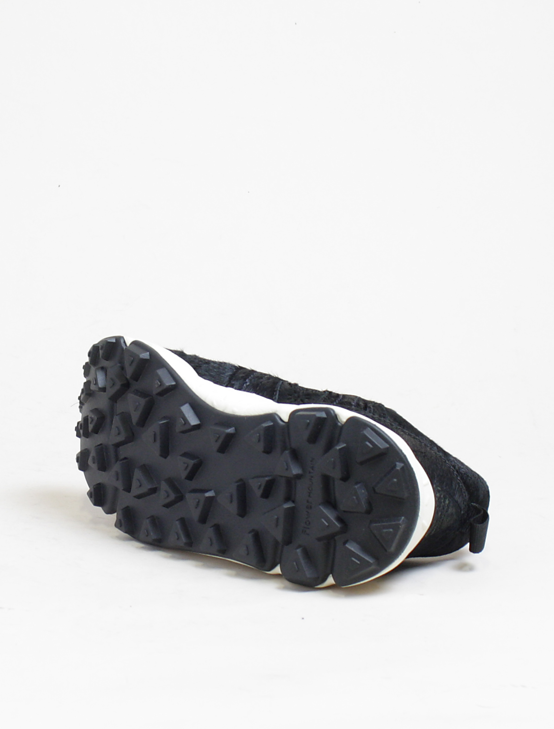 Flower Mountain sneakers Corax 2 horse hair black suola