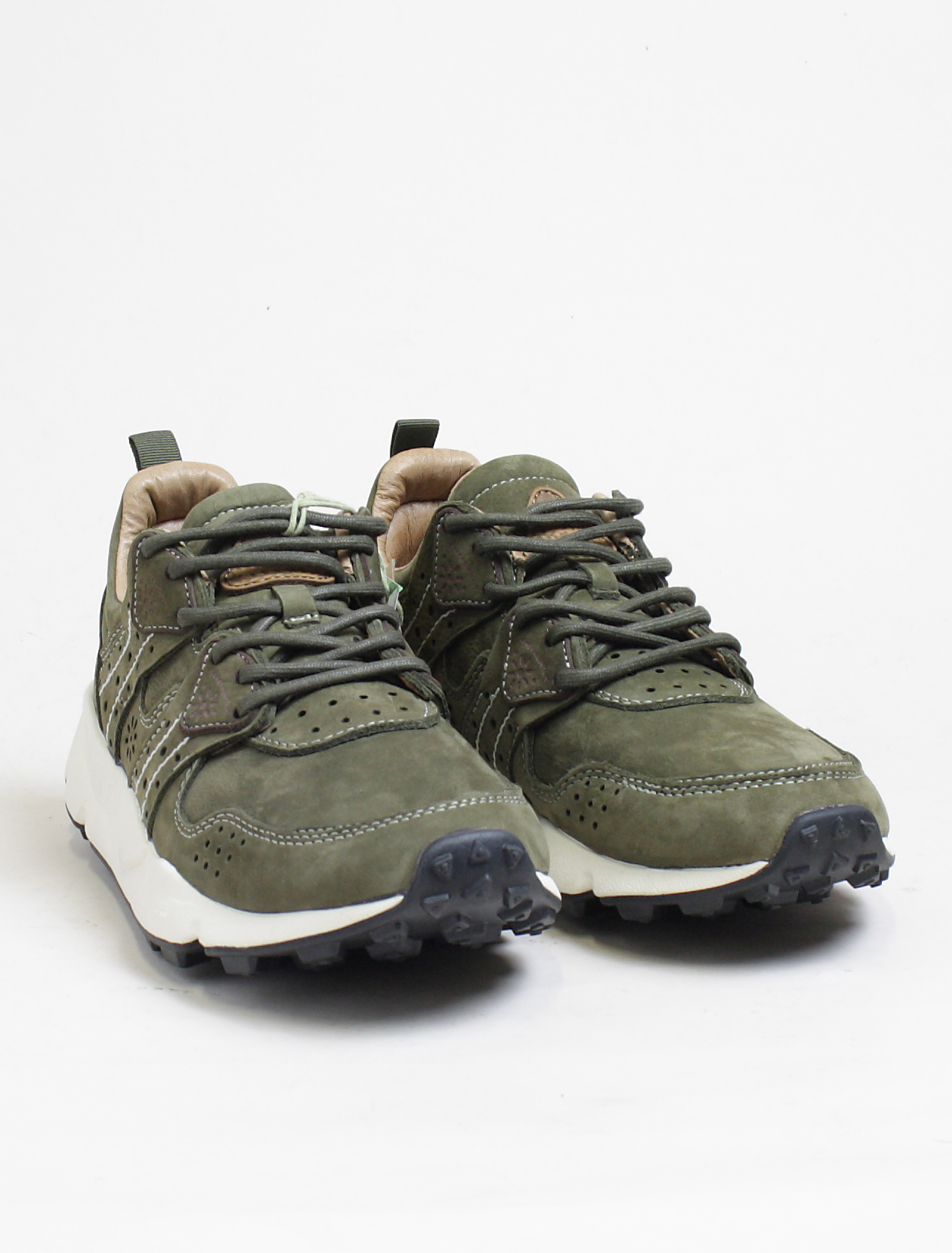 Flower Mountain sneakers Corax 2 nubuk militare paio