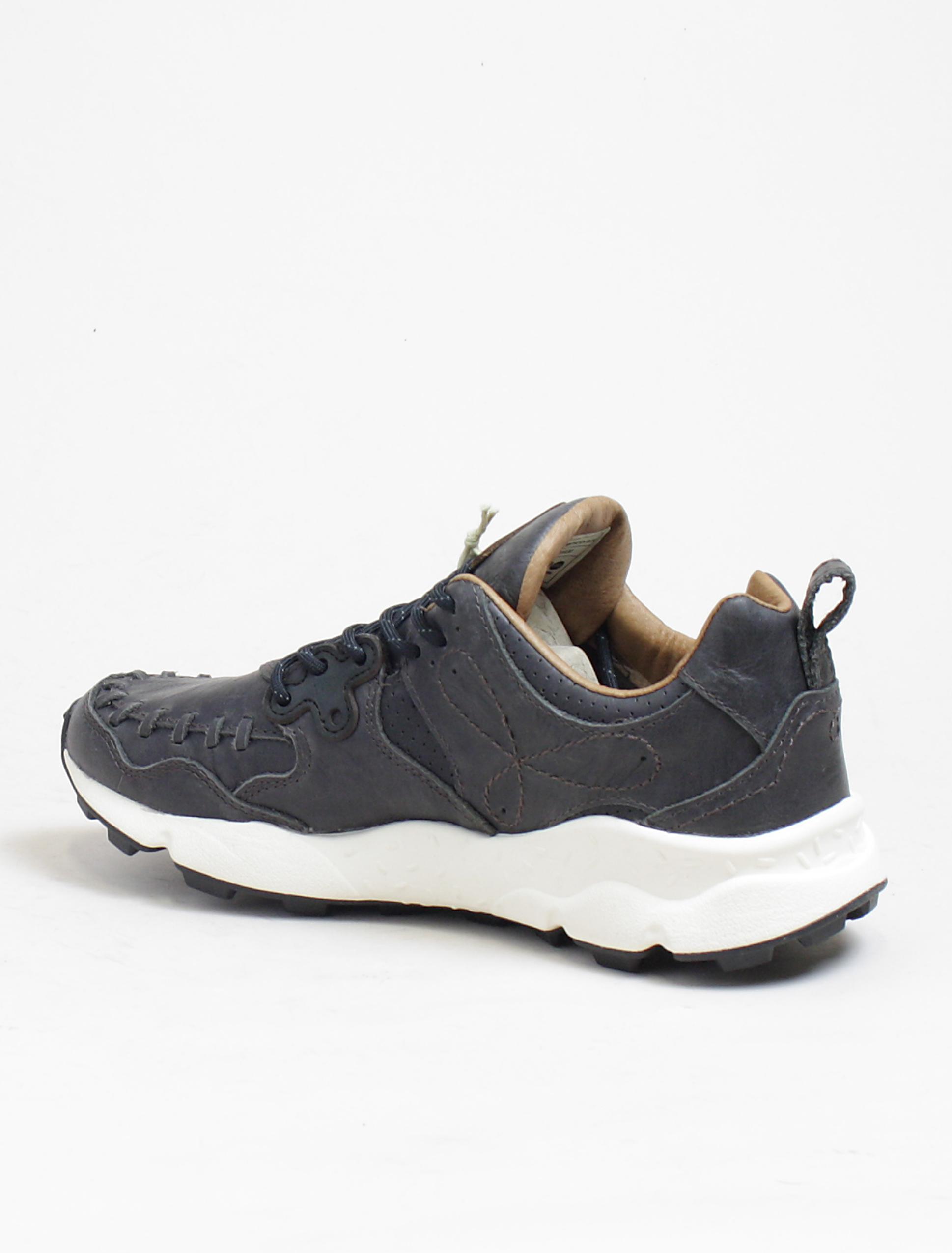 Flower Mountain sneakers Yamano calf black dettaglio interno