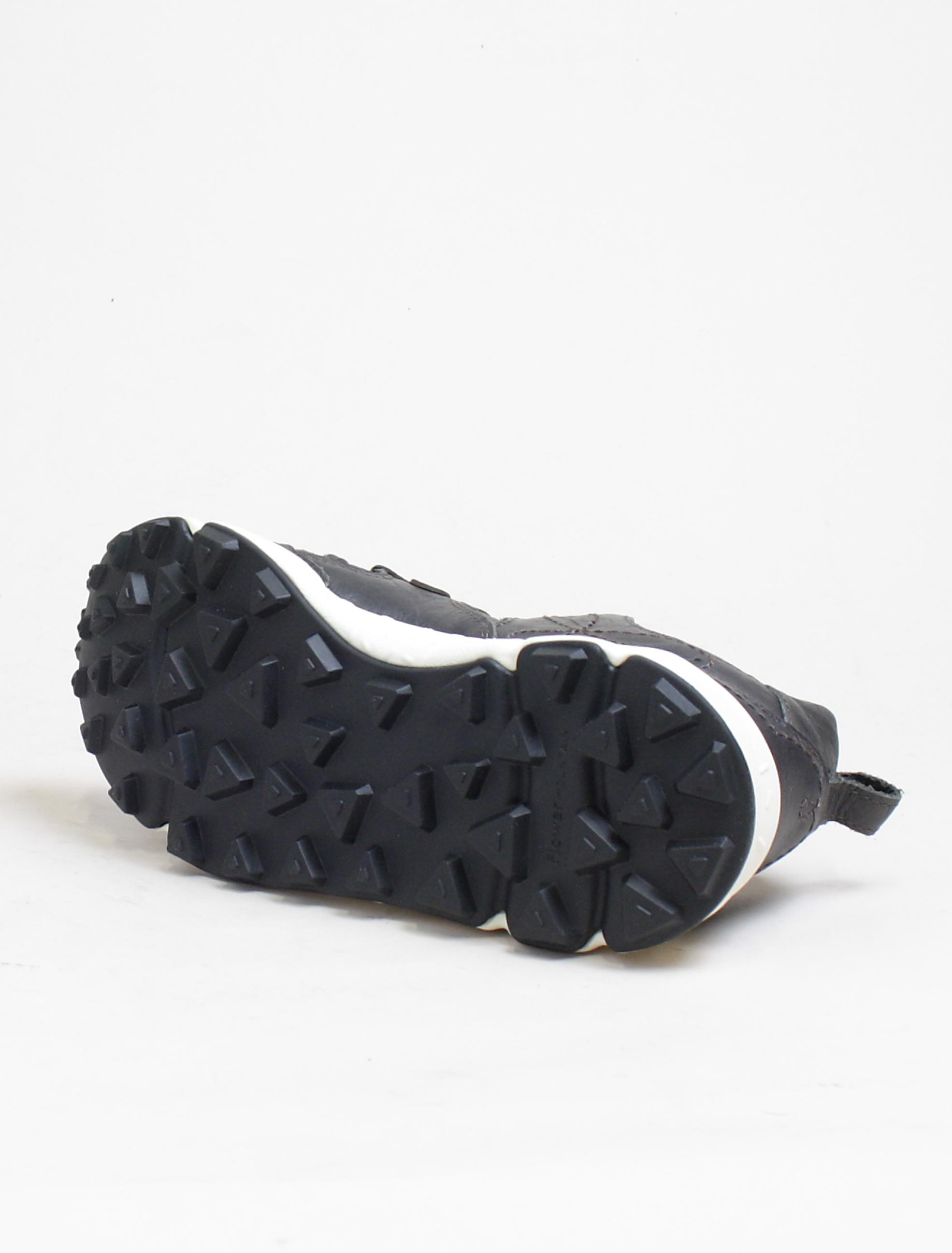 Flower Mountain sneakers Yamano calf black dettaglio suola