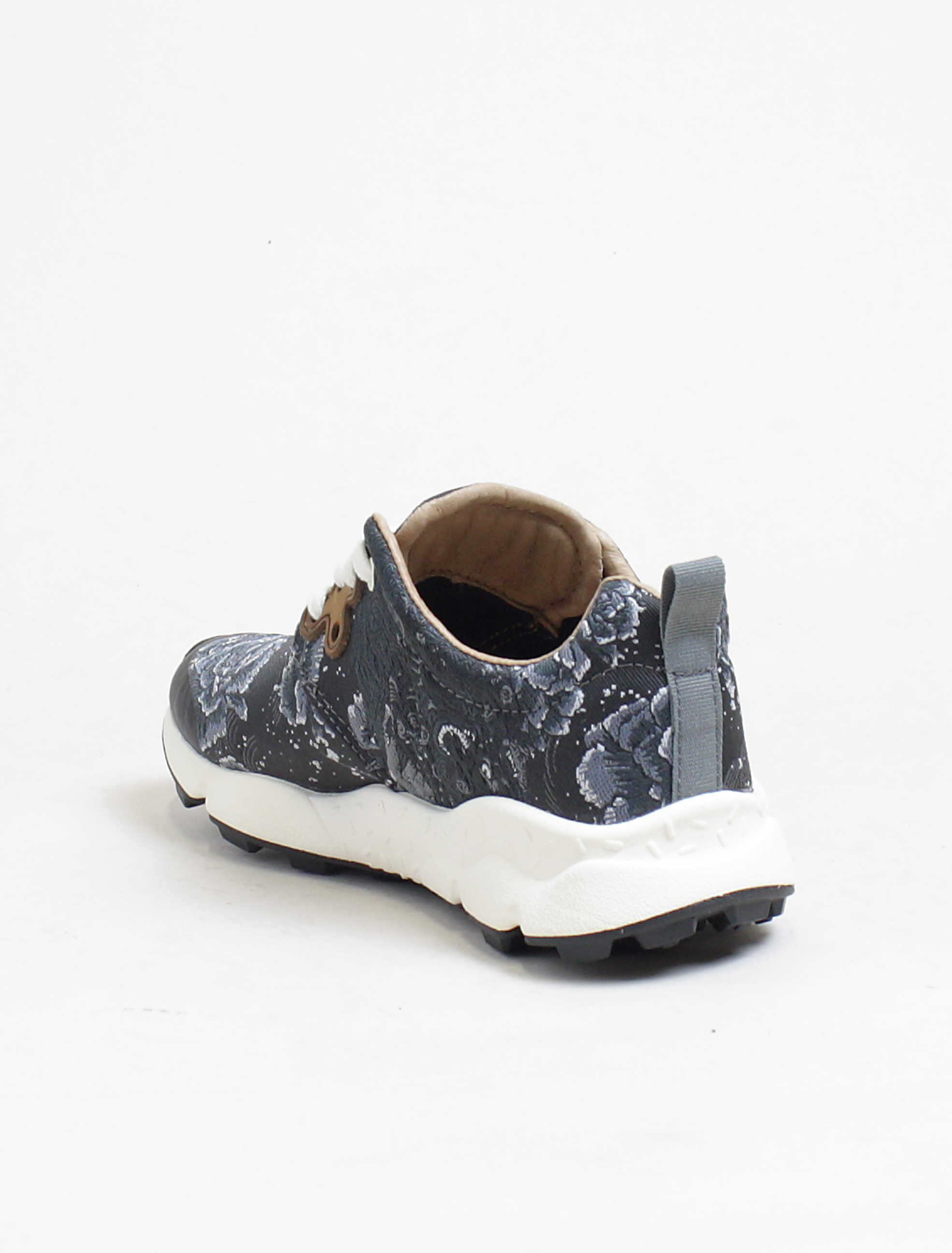 Flower Mountain sneakers Pampas black silver dettaglio interno