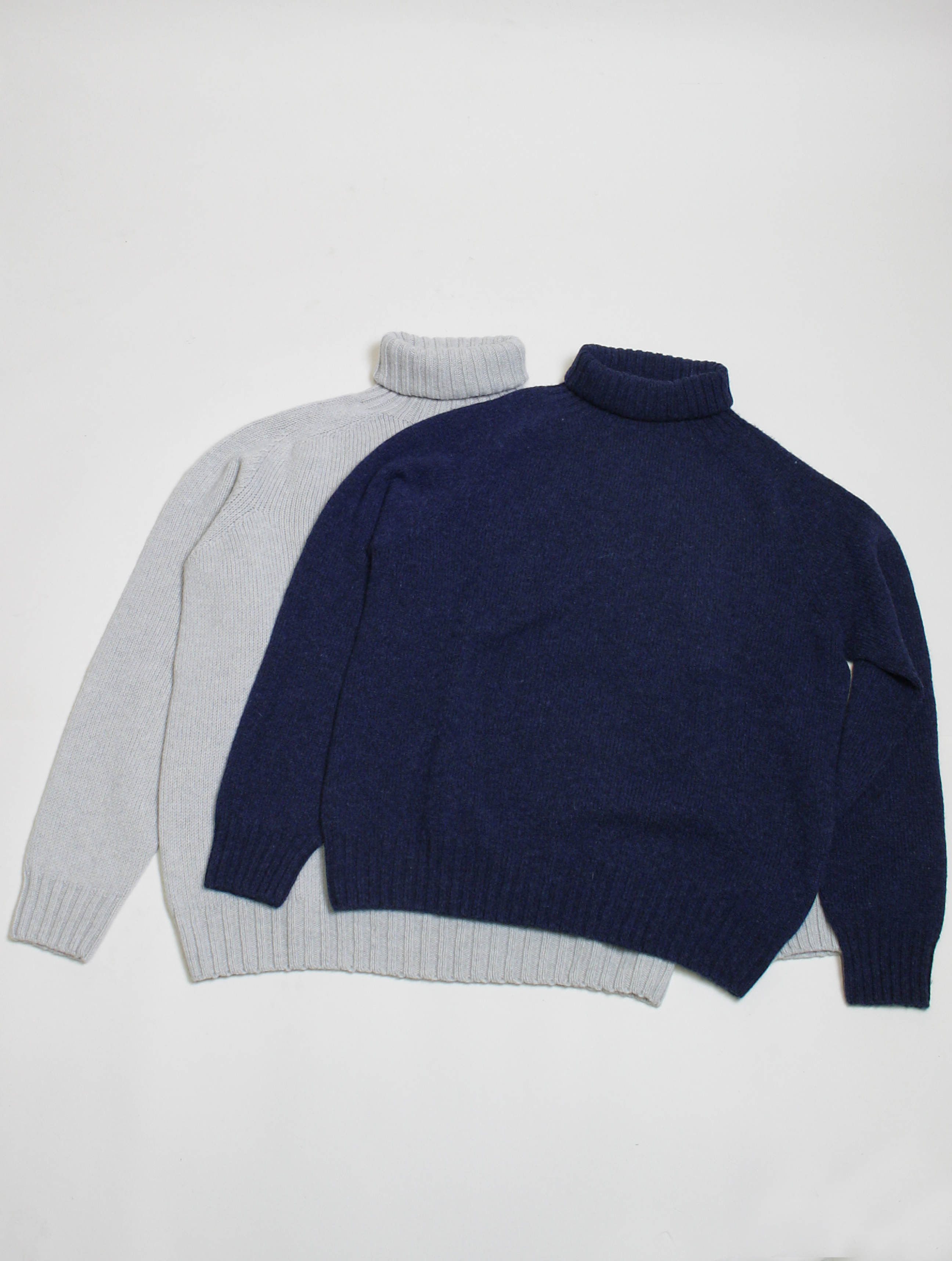 Harley of Scotland maglione a collo alto L3874 Agate dettaglio colori