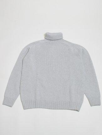 Harley of Scotland maglione a collo alto L3874 Agate