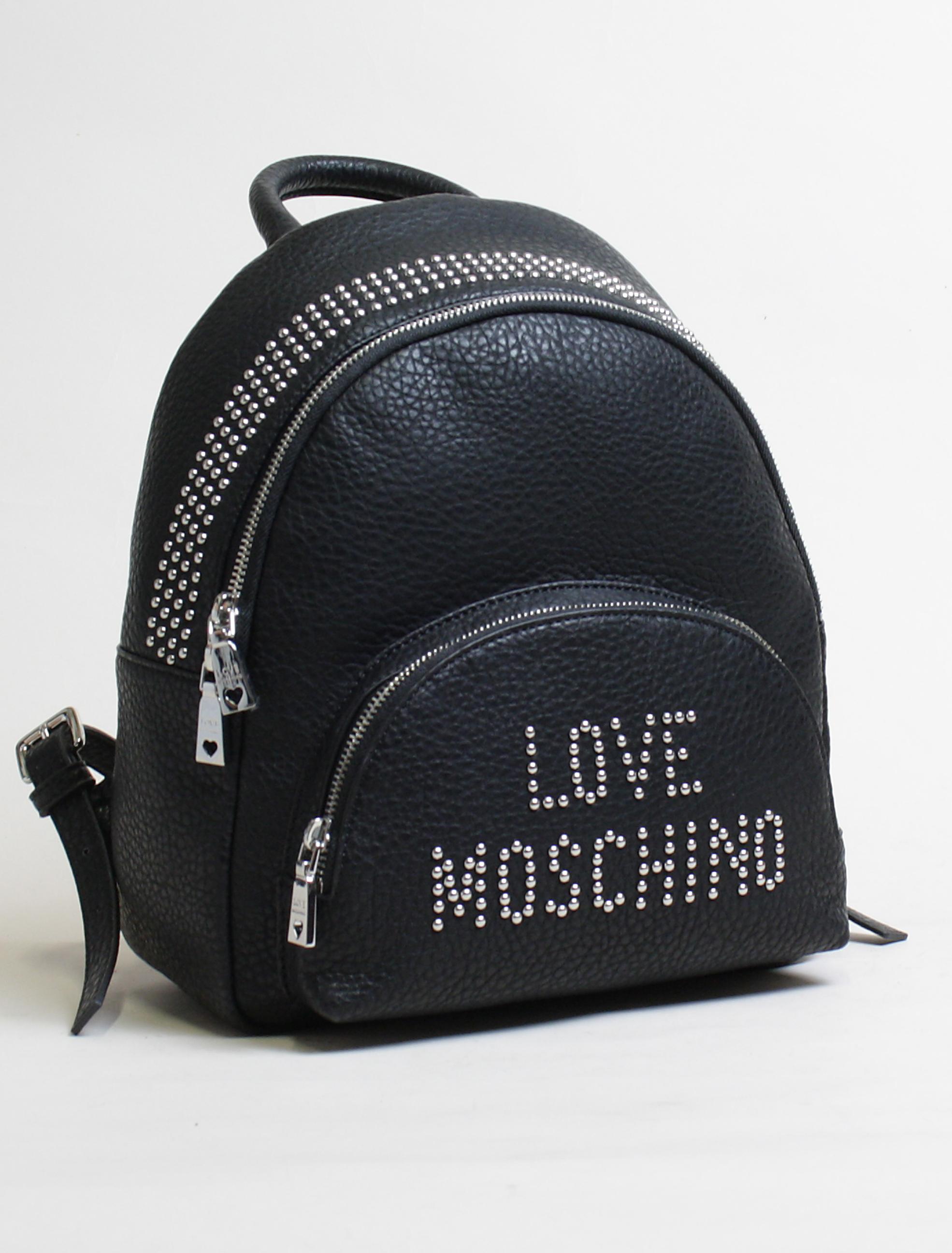 big sale c385d 7945f Love Moschino Zaino borchie nero 2 - Corsi Shop