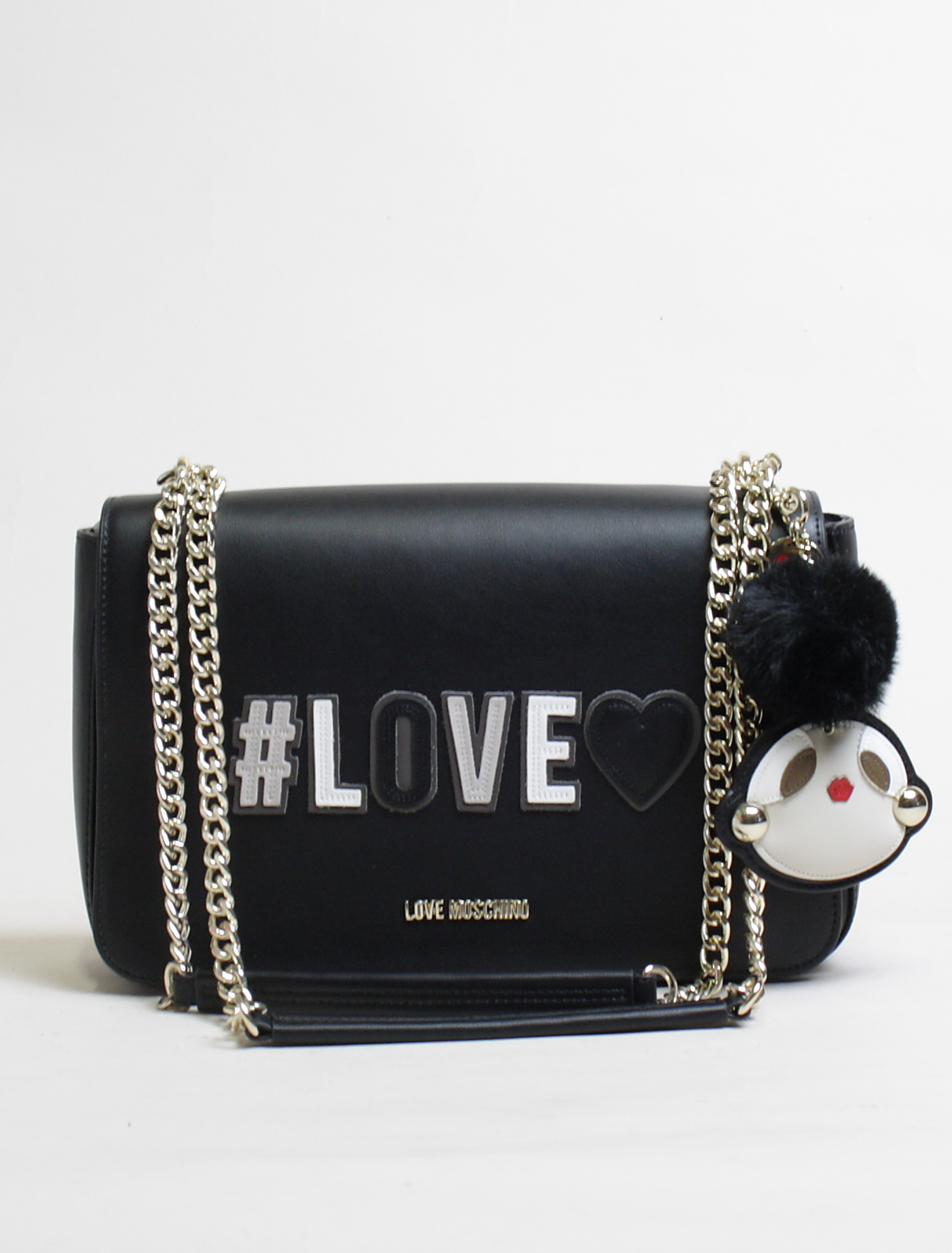 Love Moschino black Love shoulder bag