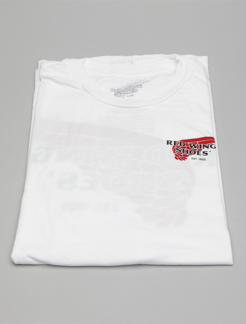 Red Wing T-shirt 97403 Bianco