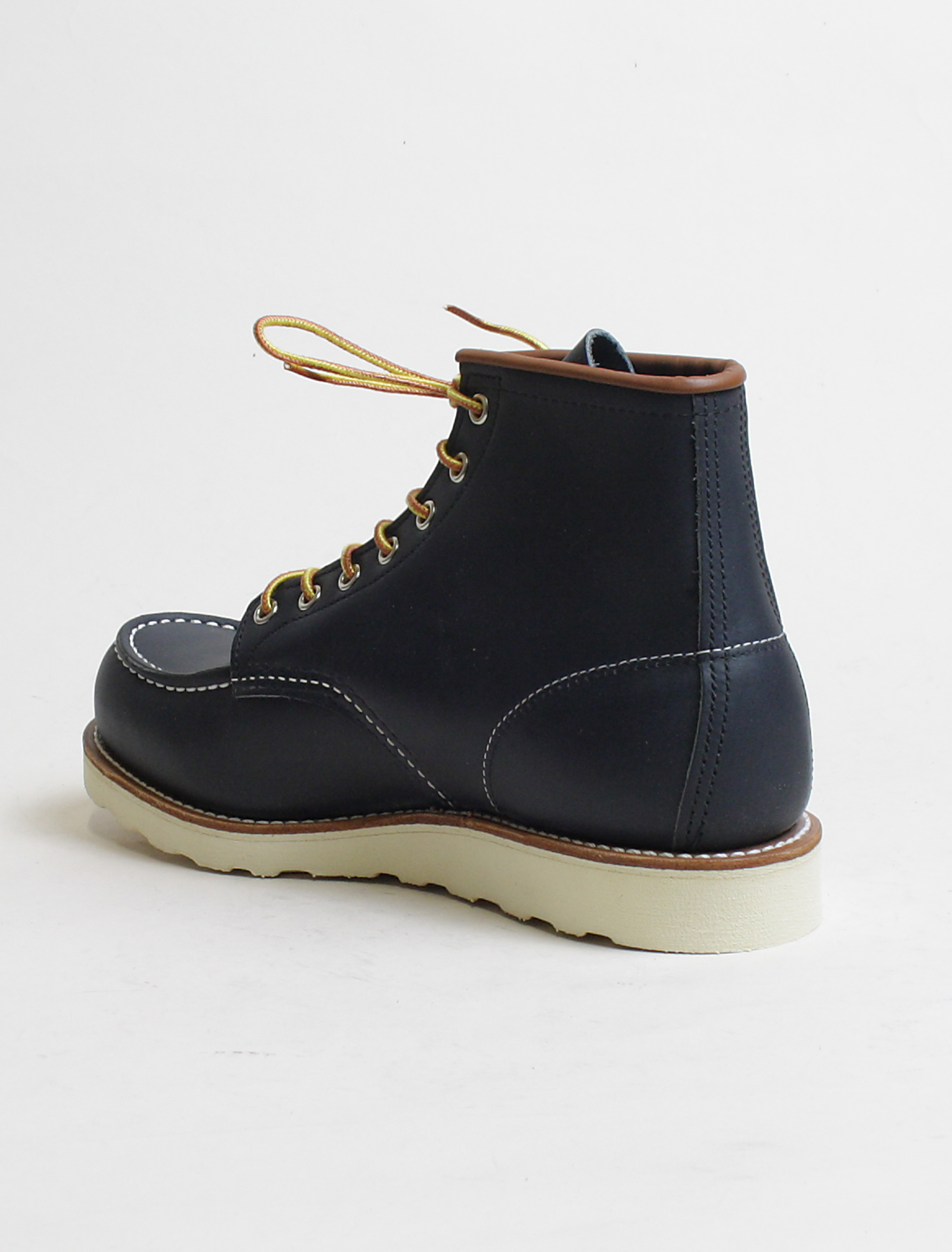Red Wing 8859 Classic Moc Toe Navy dettaglio laterale