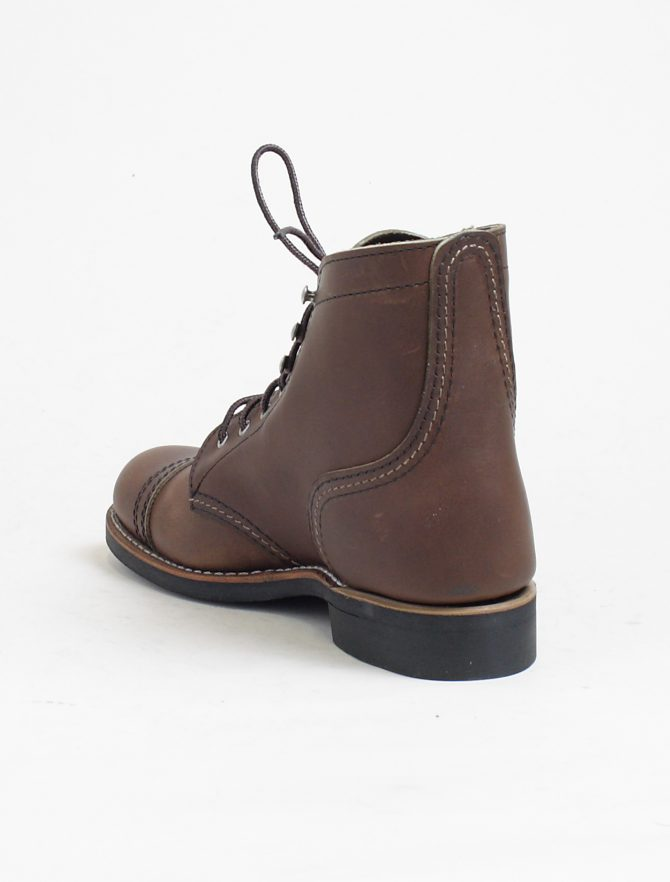 Red Wing 3365 Iron Ranger Amber Harness dettaglio tacco