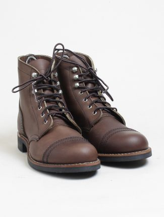 Red Wing 3365 Iron Ranger Amber Harness paio