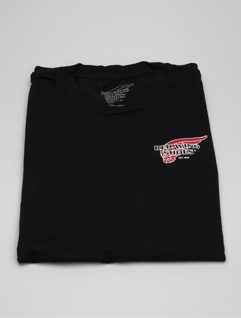Red Wing T-shirt 97405 Nero