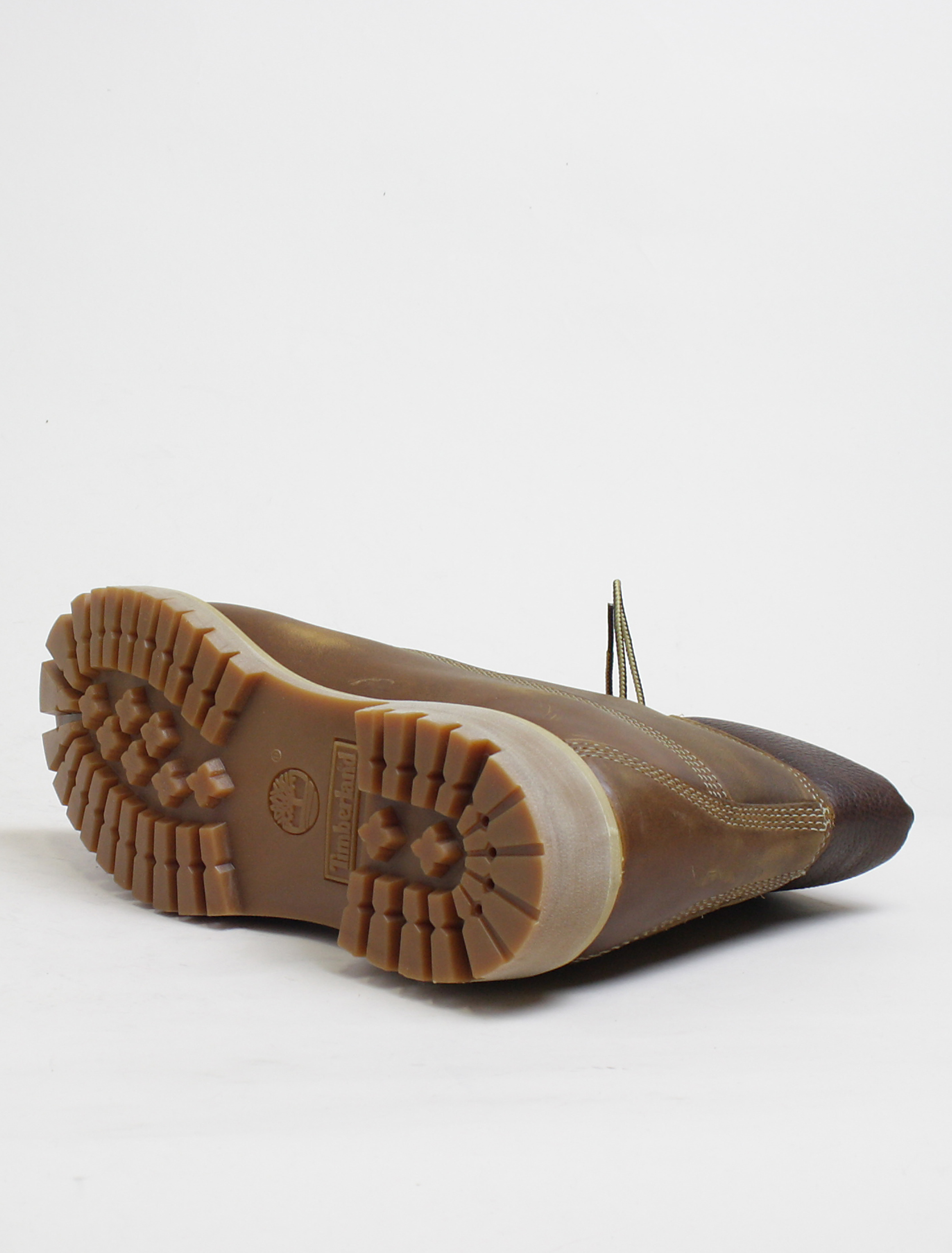 Timberland 6 inch heritage classic marrone dettaglio suola