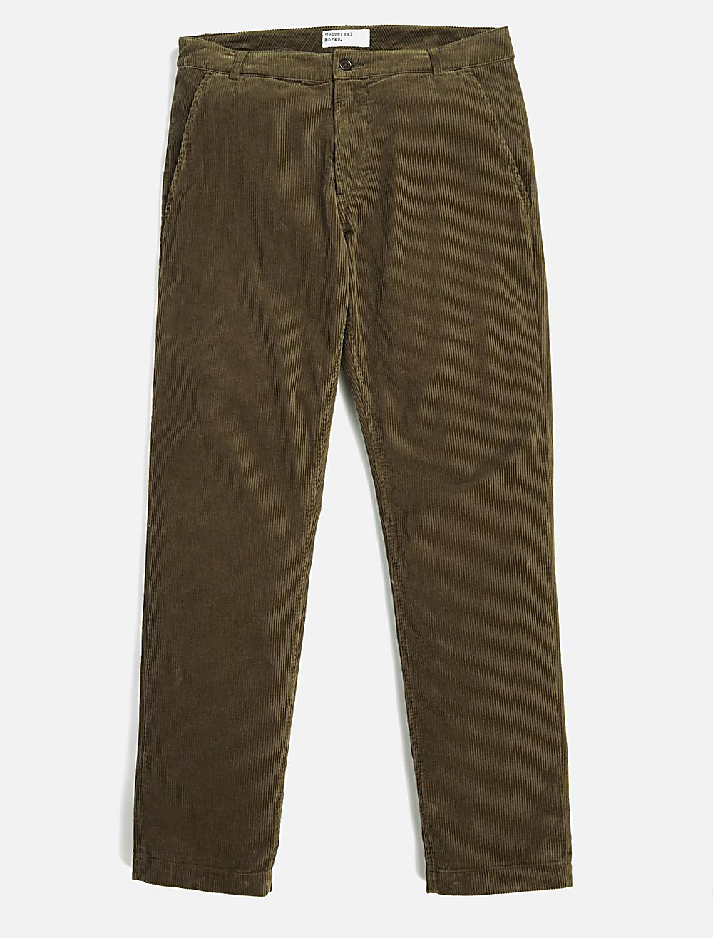 Universal Works Aston Pant Cord Olive