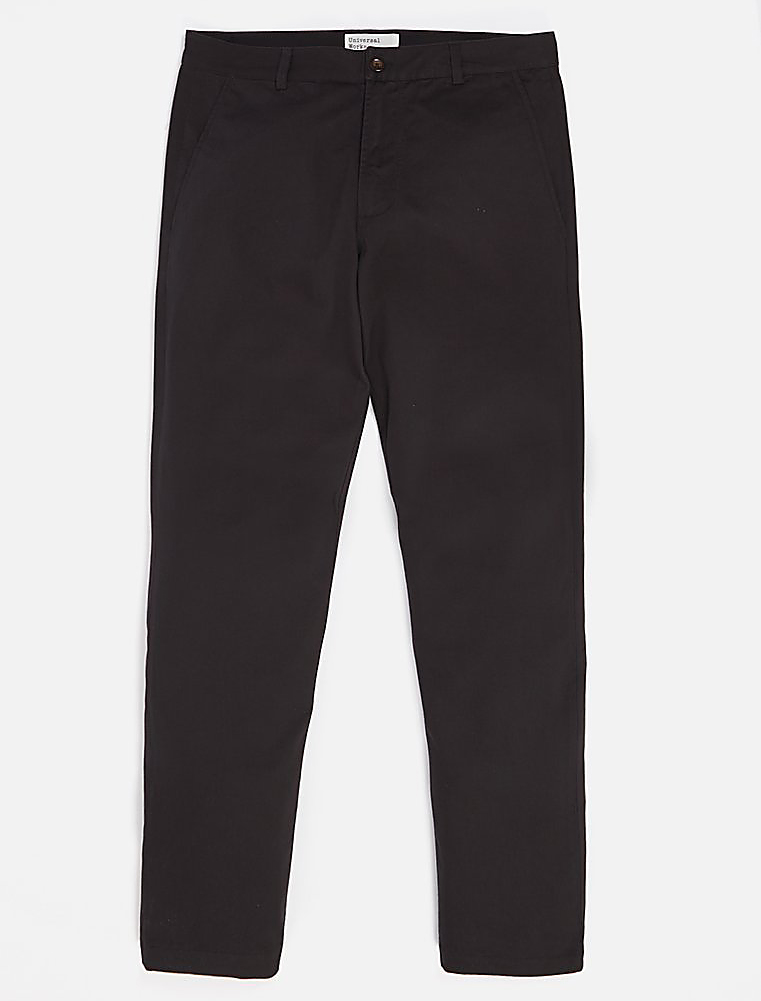 Universal Works Aston Pant Twill Black