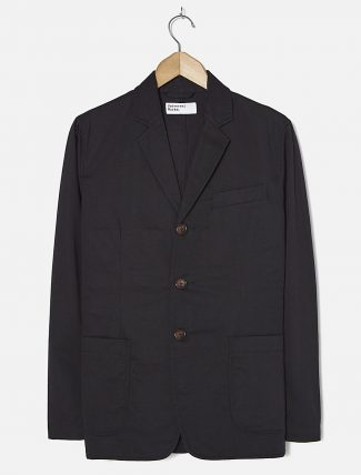 Universal Works London Jacket Twill Black