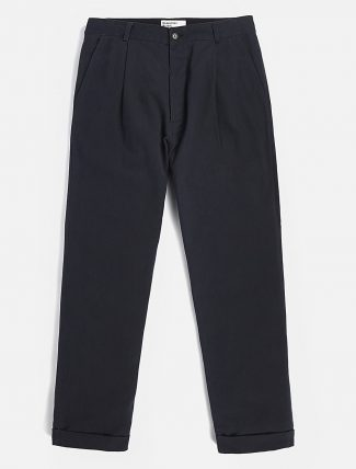 Universal Works Plated Pant Soft Winter Twill Navy