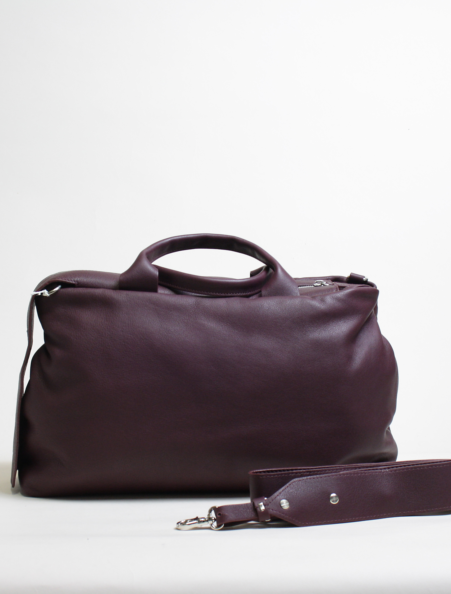 Vic Matié shopper bag burgundy