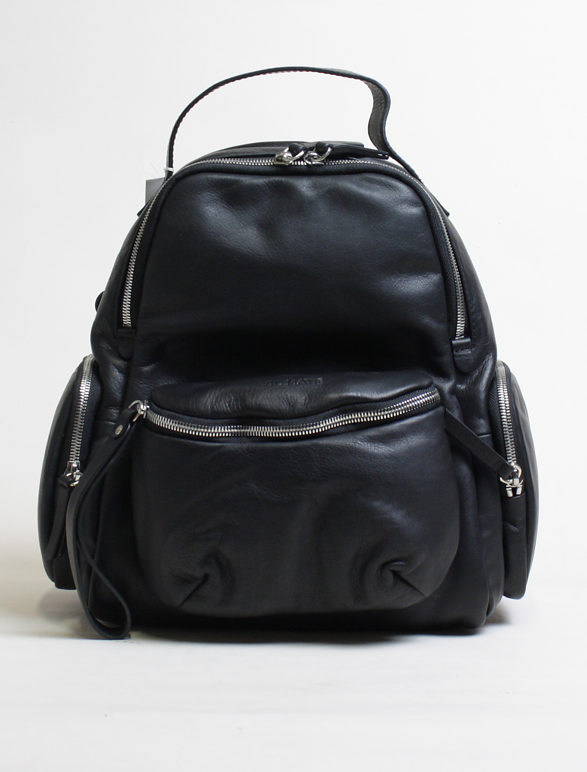 Vic Matié Asia black backpack with removable bumbag