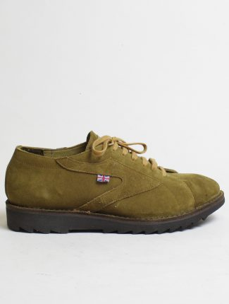 Walsh New Ripple suede senape