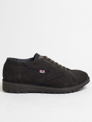 Walsh New Ripple suede dark brown