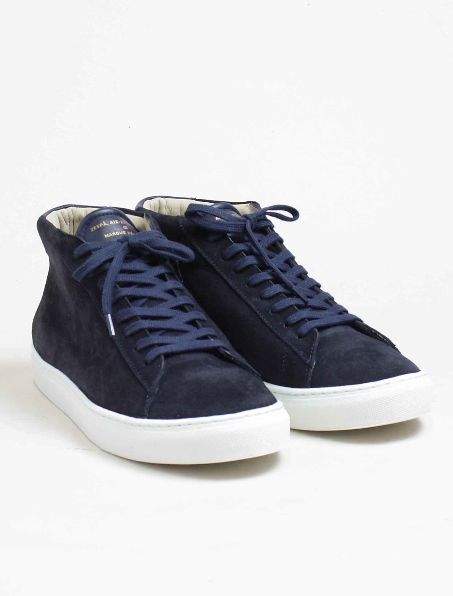 Zespa zsps sneakers suede navy paio