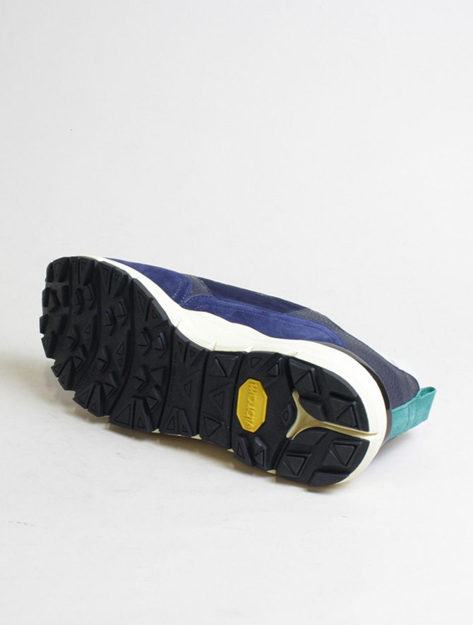 D'Acquasparta sneakers DSP 3000 Seta navy suola