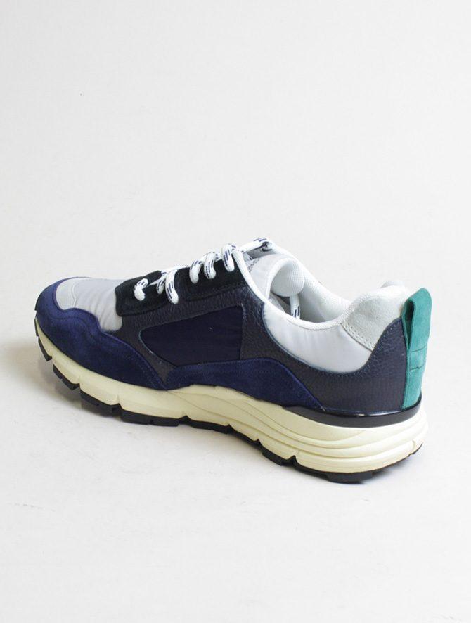 D'Acquasparta sneakers DSP 3000 Seta navy laterale