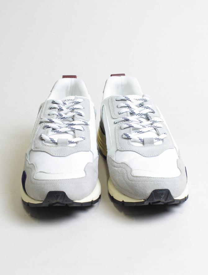 D'Acquasparta sneakers DSP 3000 Seta bianco front detail