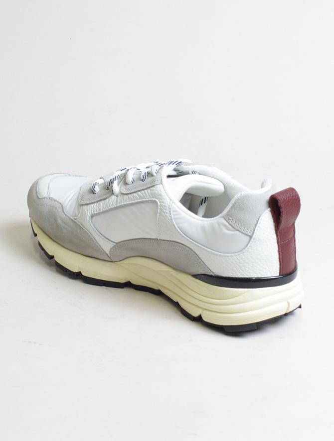 D'Acquasparta sneakers DSP 3000 Seta bianco dettaglio laterale
