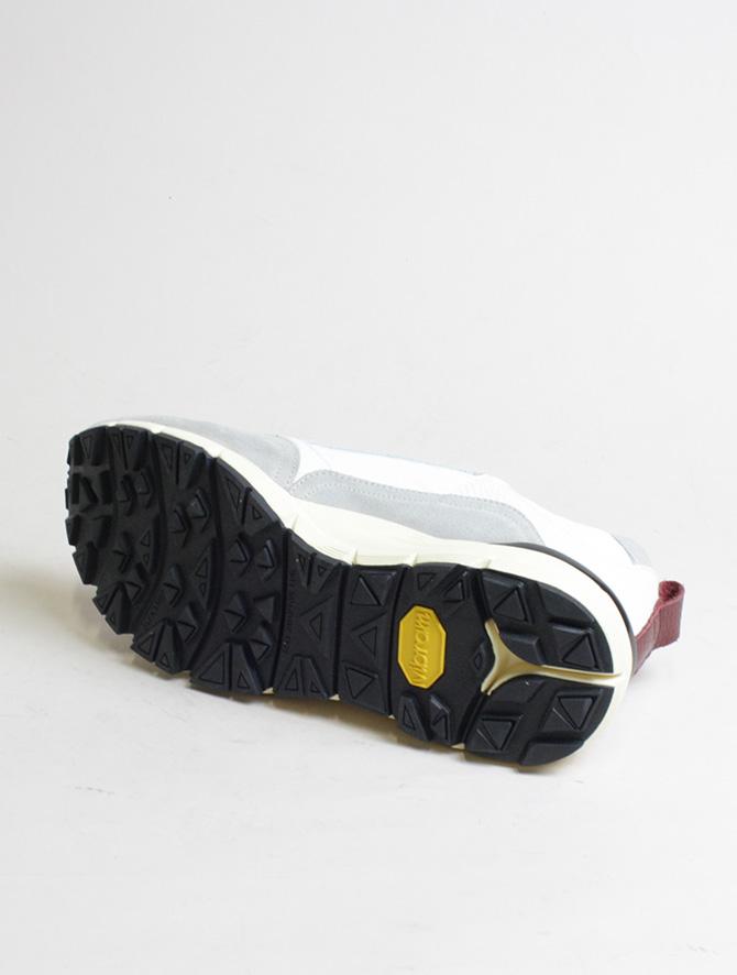 D'Acquasparta sneakers DSP 3000 Seta bianco dettaglio suola
