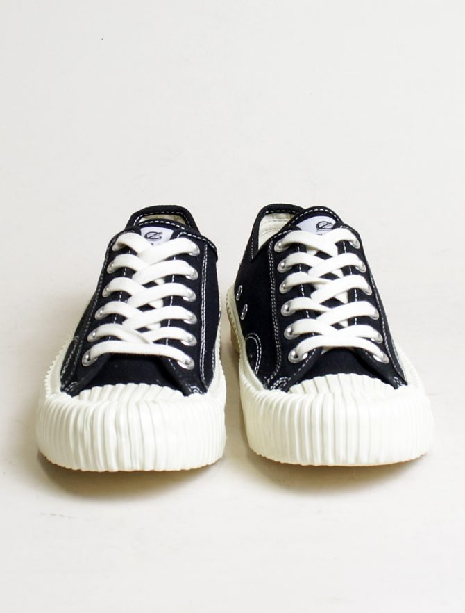 Excelsior sneakers Bolt Lo Shoes Off White rubber sole carbon black frontale