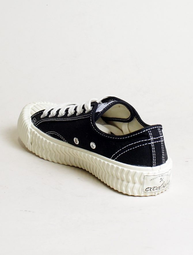 Excelsior sneakers Bolt Lo Shoes Off White rubber sole carbon black laterale