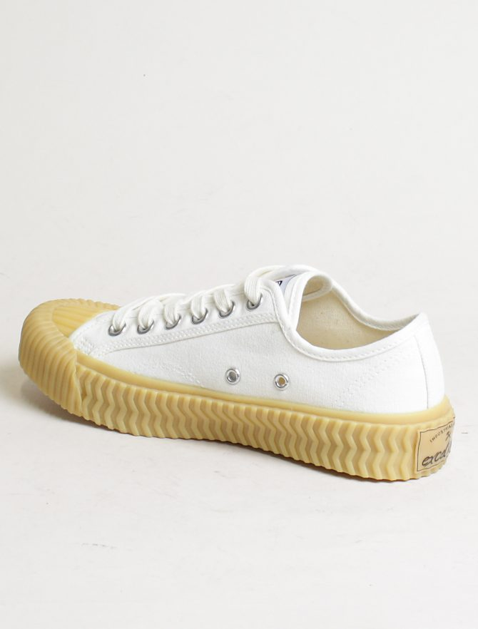 Excelsior sneakers Bolt Lo Shoes Off White rubber sole steam white laterale