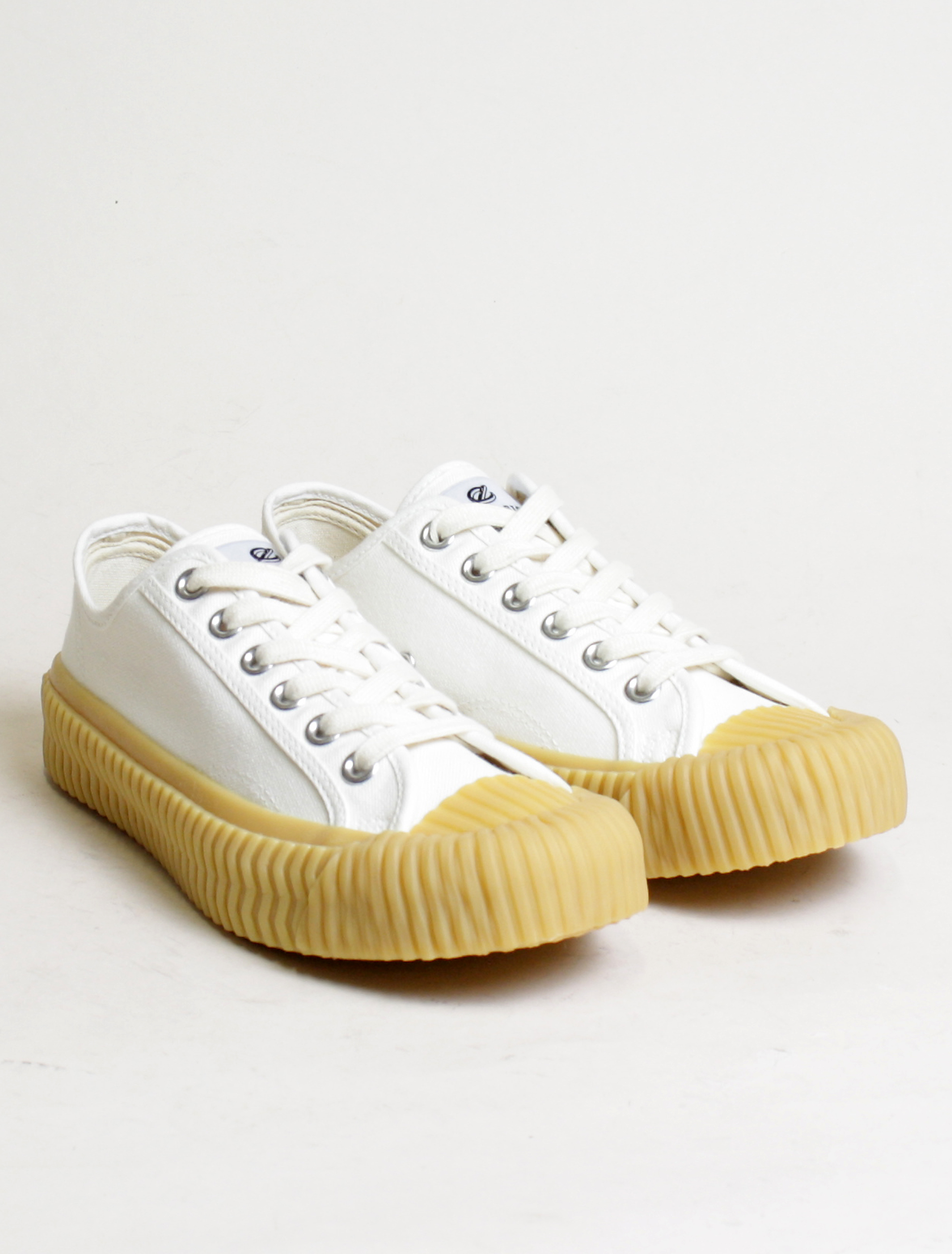 Excelsior sneakers Bolt Lo Shoes Off White rubber sole steam white paio