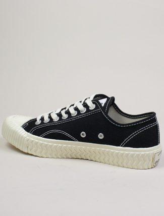 Excelsior sneakers Bolt Lo Shoes Off White rubber sole carbon black dettaglio laterale