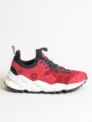 Flower Mountain sneakers Kotetsu man Velour Nylon Comb rosso