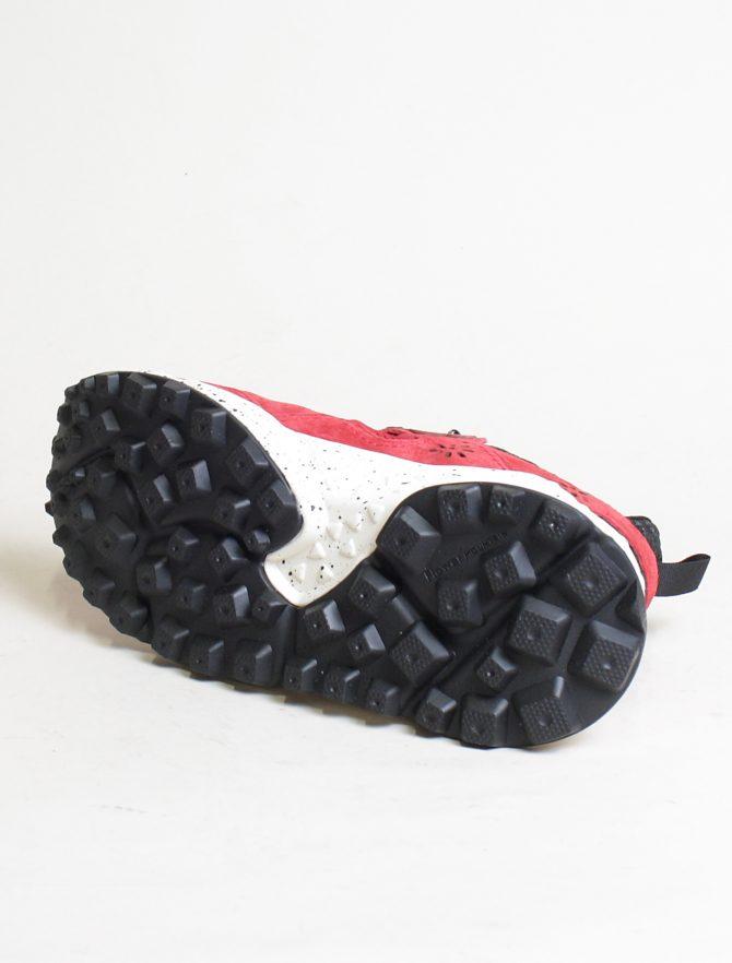 Flower Mountain sneakers Kotetsu man Velour Nylon Comb rosso